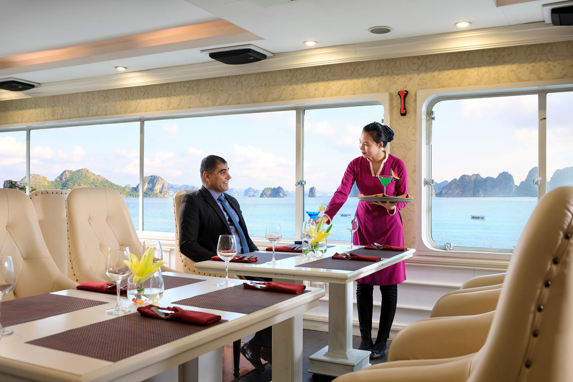 World Economic Forum – ASEAN on Halong Princess Day Cruise